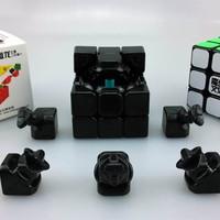 Rubik 3x3 Moyu Mini Aolong V2 Speed Cube Stickerless BRIGHT