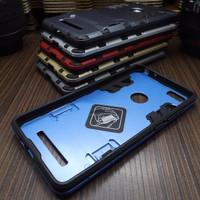 Case Armor Iron Man Xiaomi Mi4i Hybrid Dual Layer Stand Hardcase