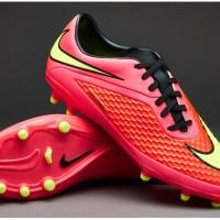 Sepatu Bola Original Nike Hypervenom Phelon FG - Bright Crimson