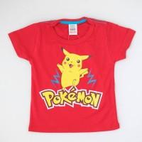 Baju Kaos Pokemon Pikachu anak anak dan bayi