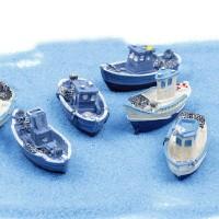 Hiasan Miniature boat dekoasi Terrarium mini Garden dekorasi aquarium