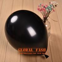 Balon metalik hitam