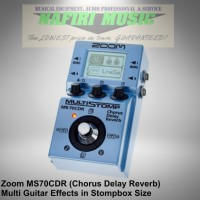 Efek gitar Zoom MS-70CDR / Zoom MS70CDR / Zoom MS 70 CDR baru 100%