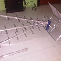 Terbatas Antena Titis Outdoor TT1000 + 15 meter Kabel Belden RG6 9116s
