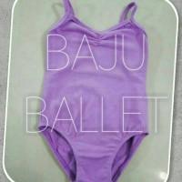 Leotard / baju ballet dewasa - tali kecil/camisole