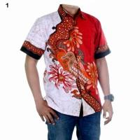 Baju Batik Pria   Kemeja Batik   Hem Batik Modern Riyan - Warna 2