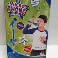 Mainan Edukasi / Edukatif Anak - Microphone Super Voice Mic Karaoke