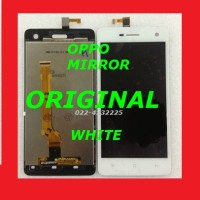 LCD + TOUCHSCREEN OPPO FIND MIRROR R819 WHITE ORI 100% ORIGINAL 901435