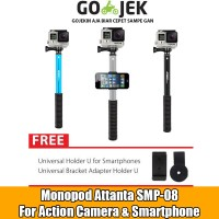 Tongsis Monopod Attanta SMP-08 For Action Cam Xiaomi Yi Gopro Brica