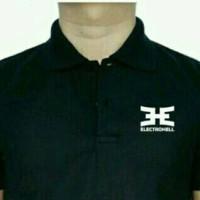kaos kerah electrohell/polo shirt/kaos berkerah