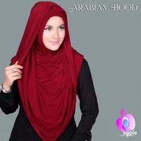 Hijab Instant Arabian Hoodie (Versi Premium) Model Terbaru