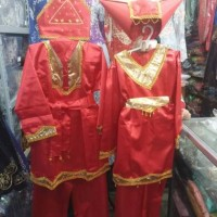 Baju Adat Padang anak laki - laki ukuran M