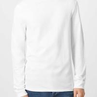 Long Sleeve Lengan Panjang Kaos T-Shirt T Shirt TShirt Polos