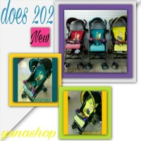 STROLLER BUGGY BABY DOES 203 NEW COLOUR khusus gosend