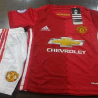 Jersey Baju Bola Manchester United Home Kids (Anak) 2016/2017 Grade Or