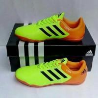 Sepatu Futsal Anak Adidas Coppa Hijau Stabilo