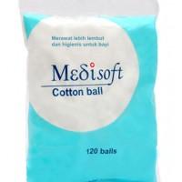 Medisoft Cotton Balls Kapas Bola isi 120 pcs