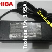 charger Laptop toshiba T210 L310 L510 A200 A215 A205 19v 3.95 ORI