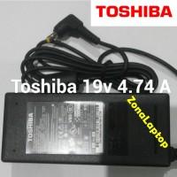 charger Adaptor Laptop Toshiba A205 M305 M300 A135 L200 19v 4.74a Ori