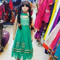 Baju India Anak Cewek Perempuan Anarkhali Lehenga Import 10
