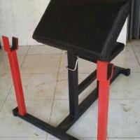 Alat fitness Home Gym - Preacer curl Bangku Bicep / bisep Non stick