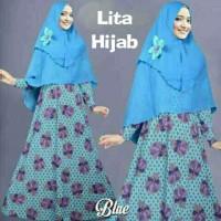 Lita syari-baju murah-gamis edisi lebaran-syari tanah abang-sale-AR
