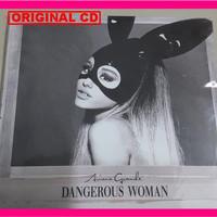 [ALBUM] Ariana Grande Dangerous Woman CD Original Import Eropa