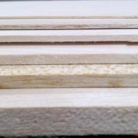 Kayu Balsa Lembaran 1mm Sheet Papan 1 mm 10x50 cm Bahan Maket Miniatur