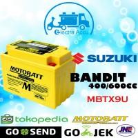 Aki motor Suzuki bandit 400 / 600 cc motobatt MBTX9U