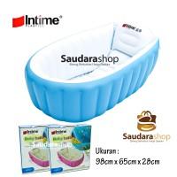 Kolam Mandi Baby Intime YT226A / Bath Tub Mandi Anak Lucu - BIRU