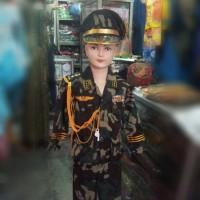 baju profesi anak TNI abri tentara kostum karnaval Sd