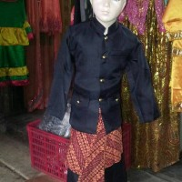 pakaian baju adat jawa barat baju sunda iket batik L