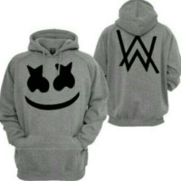 sweater dj marshmello alan walker/jaket/hoodie/zipper
