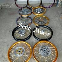 Velg Rx King Sepaket TDR 160 185 Ring 17 Tromol Jari Jari Cakram