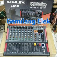 Mixer ASHLEY LM8 Professional Mixing Console (8channel)