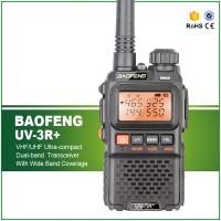 Walkie Talkie Dual Band 3W 99CH UHF+VHF - UV-3R Plus Baofeng