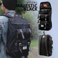 Tas Ransel Backpack Visval Majestic Laptop Gendong Branded Kerja Murah