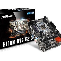 Mainboard ASRock H110M-DVS Micro ATX LGA 1151