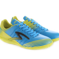 sepatu futsal specs barricada patriot in yellow/blue/black