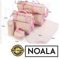 Tas Bayi 5in1 / Diaper Bag / 5in1 Multifunctional Baby Bag Diaper Bag
