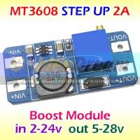 MT3608 Step Up 2A Boost Regulator DC Mini XL6009 Power Booster Supply