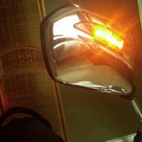 Kaca Spion - Sepion Motor Original AHM LED Lampu Sein Honda Beat 110