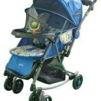 KERETA PLIKO PARIS 399 STROLLER BABY DORONGAN ANAK MOTIF BARU