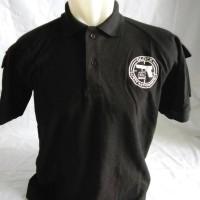 polo shirt tactical glock black/hitam lacoste cotton