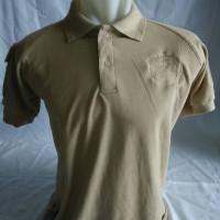 polo shirt tactical logo glock milo/tan/krem lacoste/pique