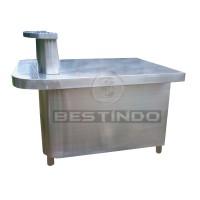 Meja Food Display Stir Stainless Steel BMES-S