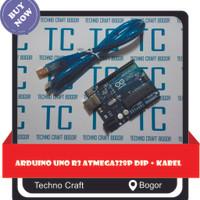 Arduino Uno R3 Atmega328P DIP + Kabel