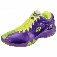 New Sepatu Badminton Yonex SHB 02 Ltd - Purple Yellow Monas Sport