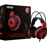 Headset MSI DS501 Gaming Headset Mic OnOff,Volume Control