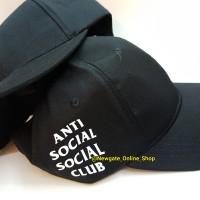Cap Topi Baseball Anti SOcial SOcial Club ASSC